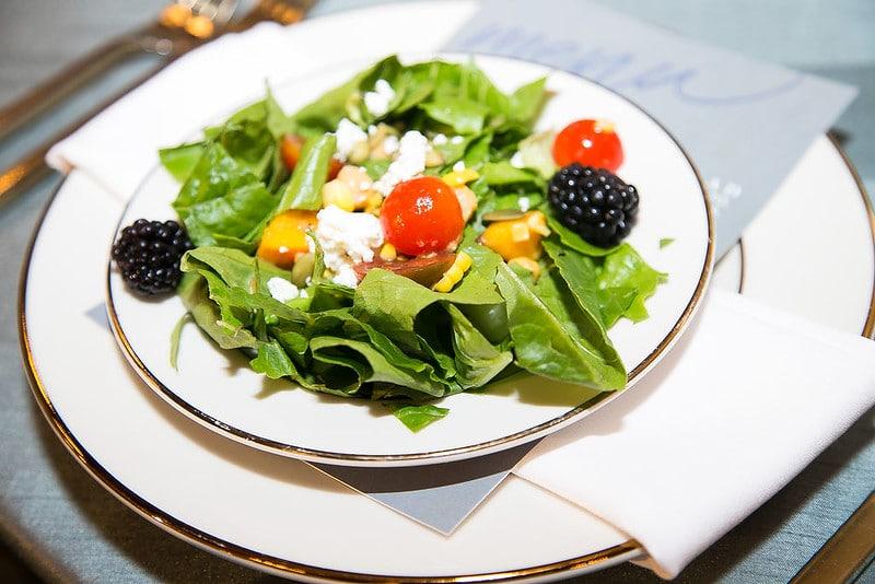 Farm Fresh Plated Salad