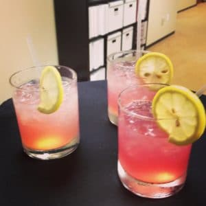 french 75, champagne, cocktails, champagne cocktail, thirsty thursdays, cocktail recipe, drink recipe, gin, gin drink recipe, catering drinks, catering recipes, catering drink recipes, best catering recipes