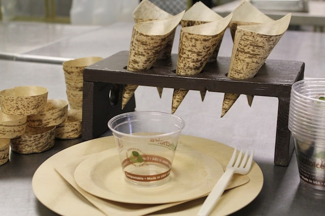 compostable dinnerware pressed bamboo crave catering 2012 & compostable dinnerware pressed bamboo crave catering 2012 - Crave ...
