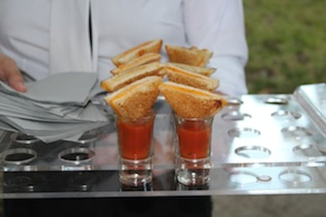 munchie monday, crave creations, catering dishes, grilled cheese, basil tomato soup, ceviche, catering in austin, event catering, wedding catering, event catering austin, wedding catering austin, austin catering company, austin events