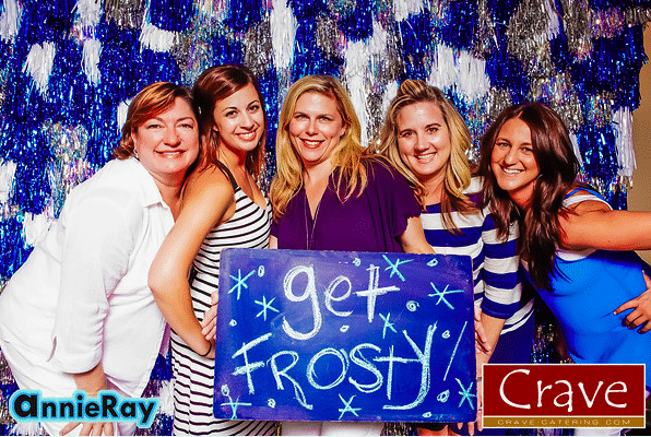 crave catering, crave, crave events, get frosty, sponsored by, austin catering, austin events, austin event industry