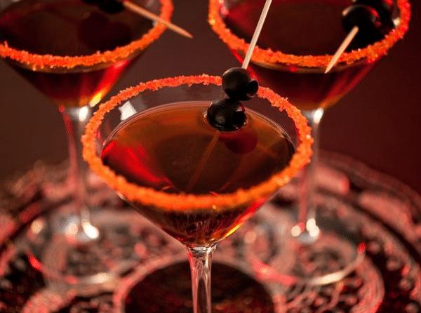spooky cocktails, cocktails, recipes, cocktail recipes, halloween, halloween recipes, crave catering