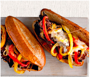 crave catering, recipes, cheesesteaks, super bowl recipes, super bowl 2014, sea hawks, broncos