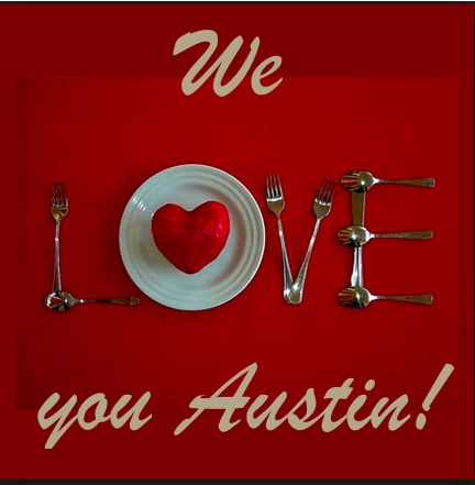 crave catering, valentine's day, caterers in austin, valentine's in austin, valentines, love, chocolate, catering services austin